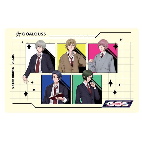GOALOUS5 / MISSION:GO5 M∞CARD B