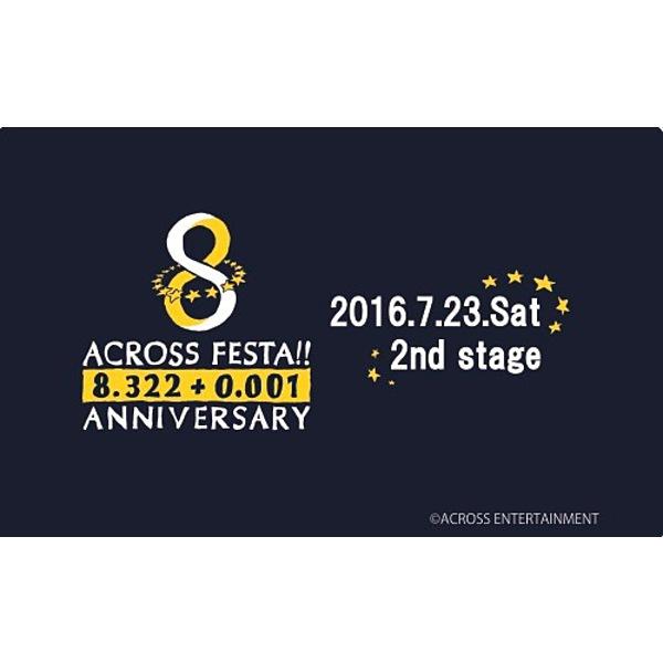 ACROSS FEATA 23日夜公演 / ACROSS FEATA23日夜公演エムカード