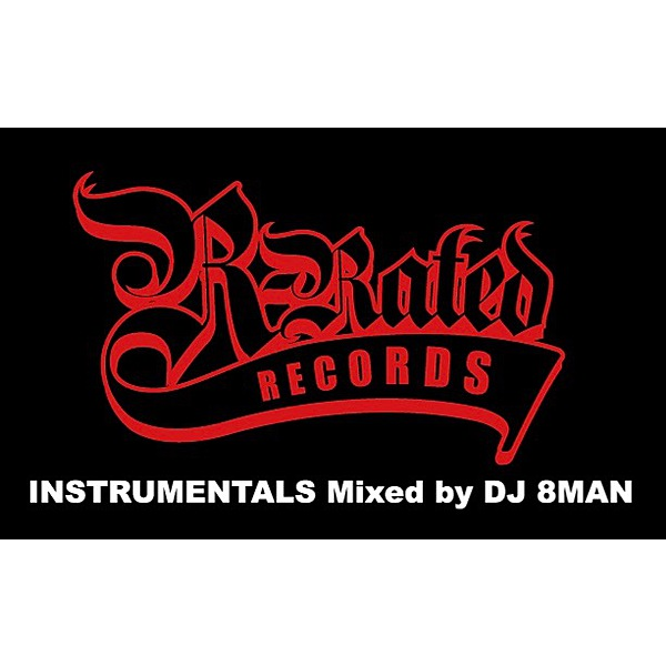 DJ 8MAN / R-RATED INSTRUMENTALS エムカード